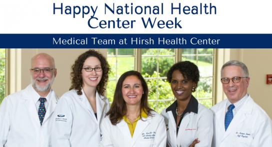 Hirsh-Medical-Team-National-Health-Center-Week