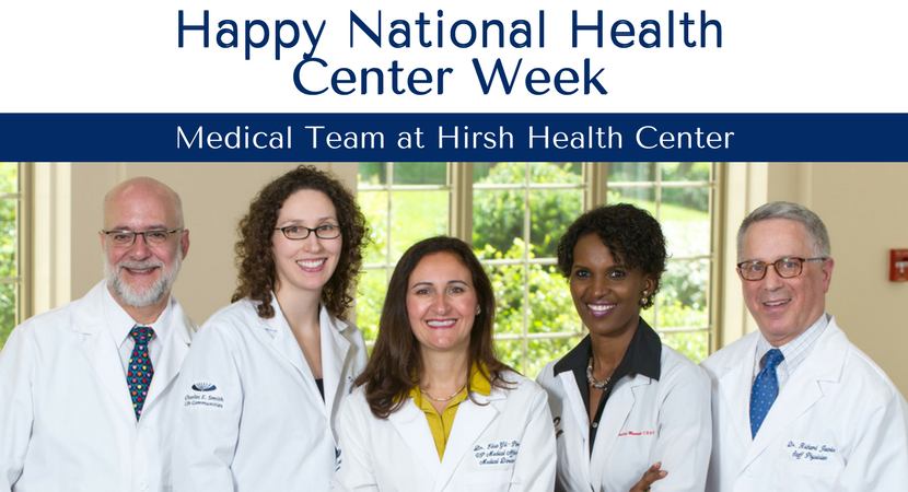 CESLC Celebrates Hirsh Health Center During National Health Center Week