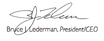 Bruce Lederman signature