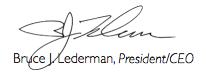 Bruce Lederman signature