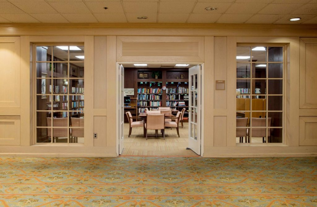 Library at Charles E Smith Life Communities