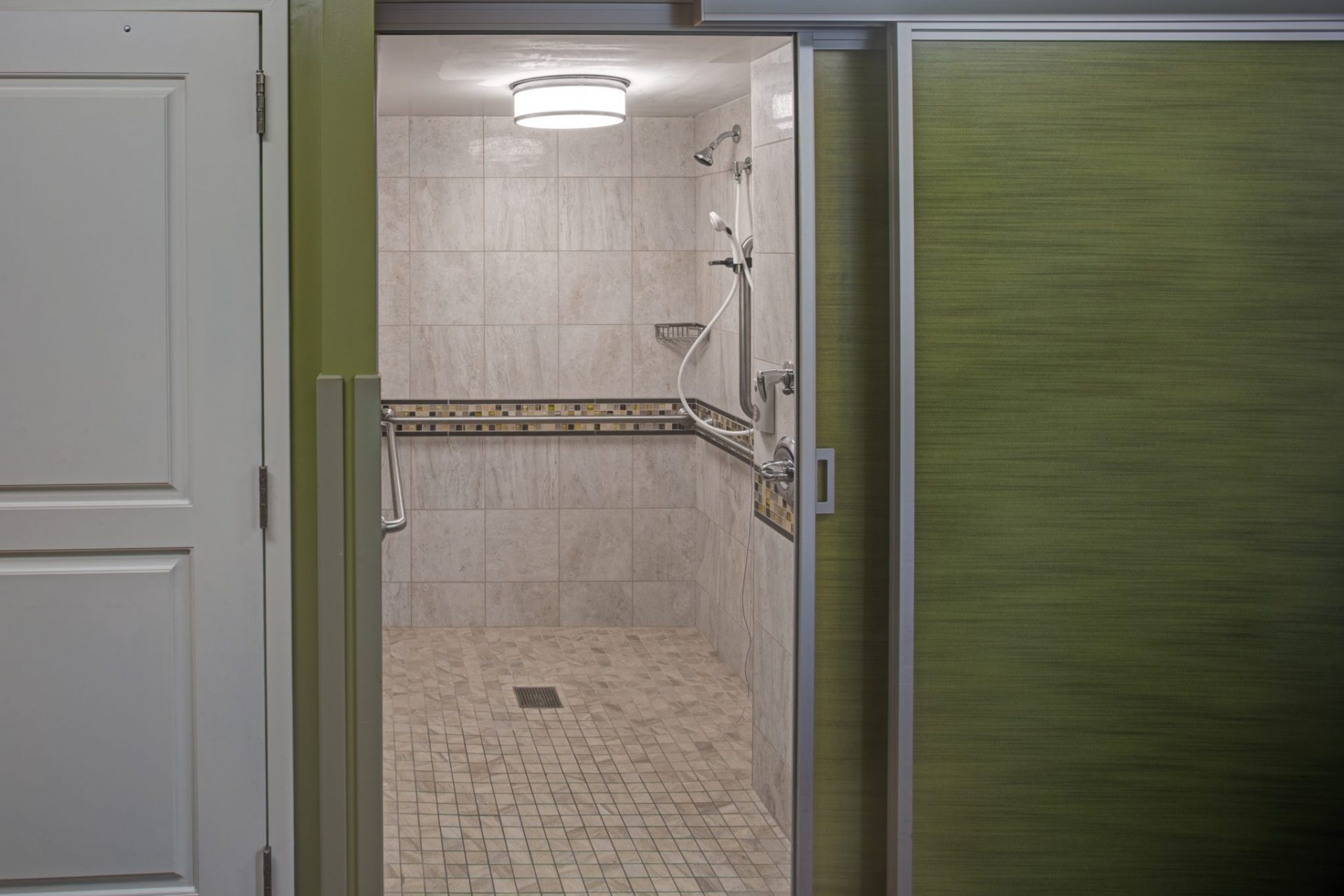 Wasserman Shower Area - Charles E. Smith Life Communities