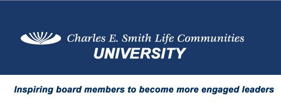 Charles E Smith University Logo