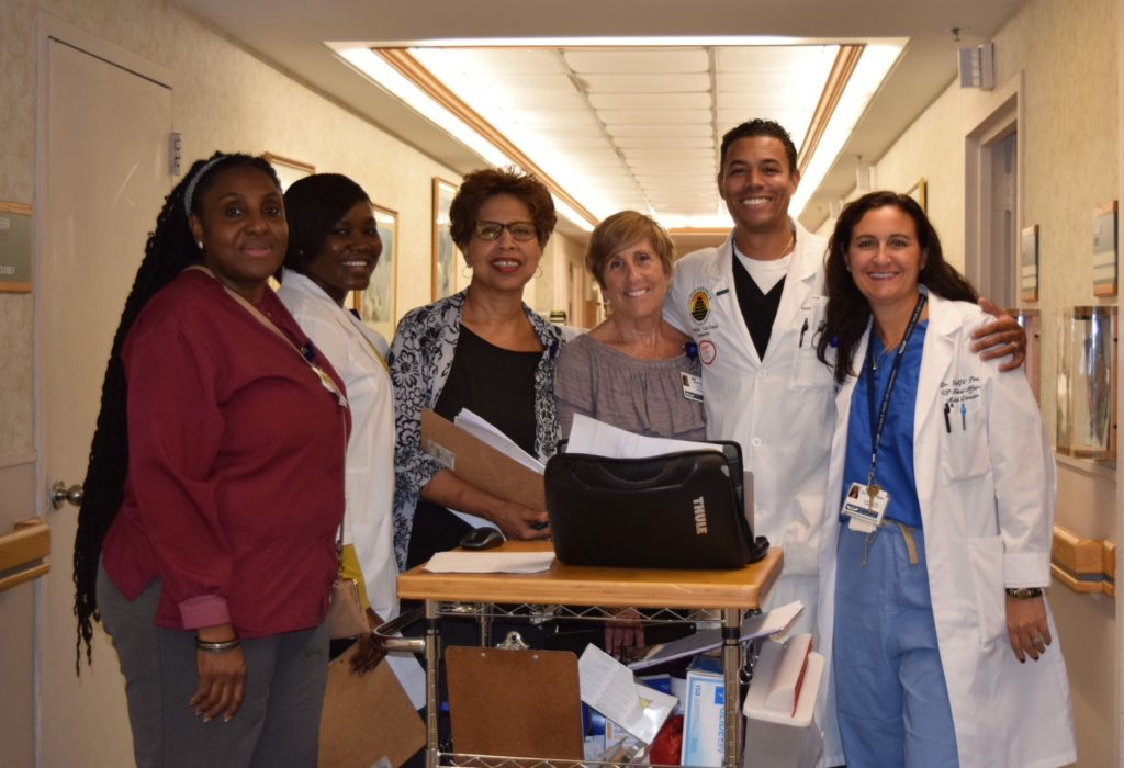 the wound care team at CESLC