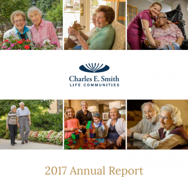 Charles E Smith Annual Report Cover Page