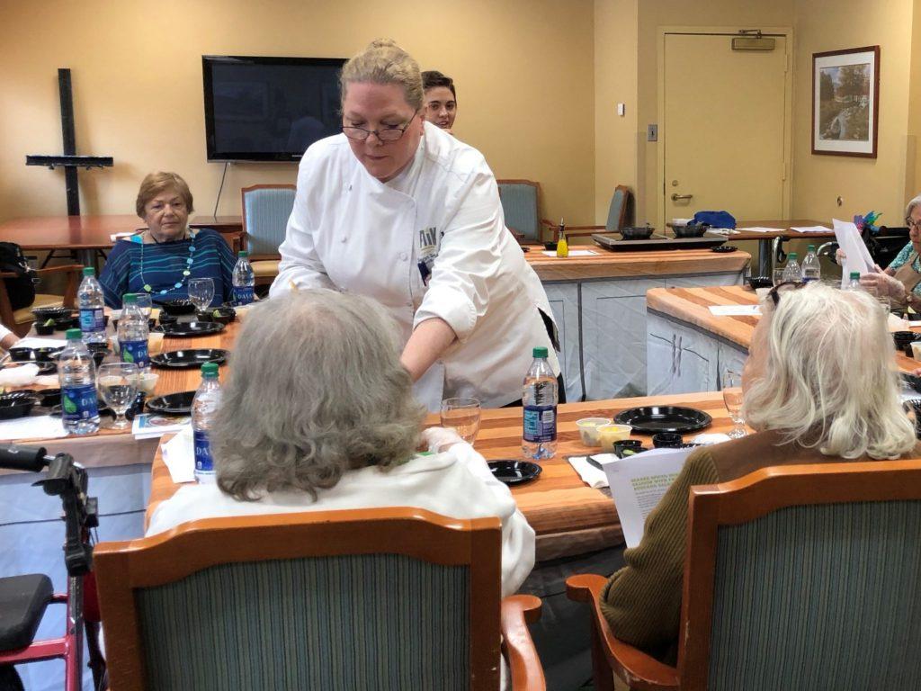 The Teaching Kitchen tasting program