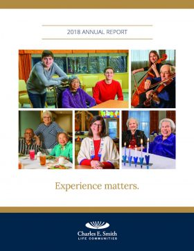 Charles E. Smith Life Communities Annual Report cover