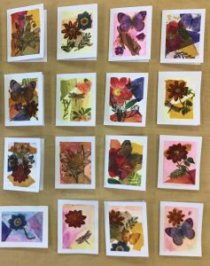 cards made by high school seniors for senior citizens